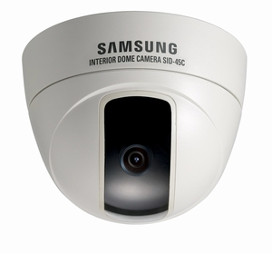 Samsung SID-45CP CCTV Dome Camera,Chennai India.